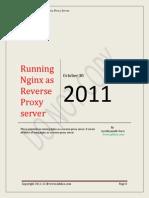 Nginx as Reverse Proxy V1.0