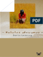 Relatos Africanos - Doris Lessing