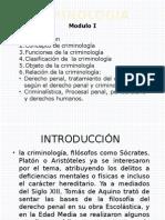 Introducción a La Criminología