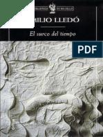Emilio Lledó - El Surco Del Tiempo