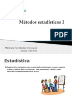 Métodos Estadísticos I 1