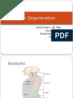Disc Degeneration PPT