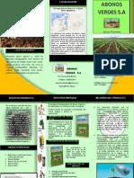 Brochure Abonos Verdes S.A