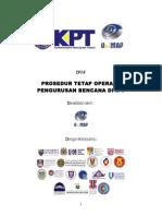 SOP Pengurusan Bencana IPT - Final Dis 2011
