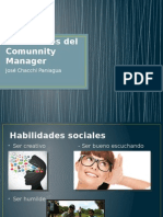 Habilidades Del Comunnity Manager