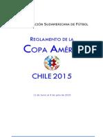 Reglamento Copa America Chile 2015