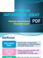 Layanan Informasi Obat (Minggu 6)