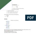 Formula for Longitudinal Vibration