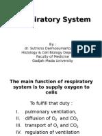 Histo - dr. Sutrisno (Respiratory System).ppt