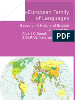 HEL_Lecture 2 on the Indo European Family of Languages