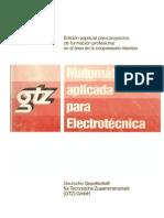 Matematica Aplicada a La Electrotecnia GTZ Doc