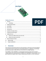 5 Arduino IDE Gyro