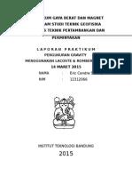 Laporan Praktikum -14 Maret
