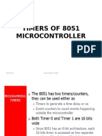 timers in 8051 Microcontller