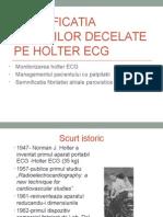 Semnificatia Aritmiilor Decelate Pe Holter ECG