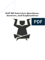 00 - Sap Sd Interview Questions Answers and Explanations Espana Norestriction