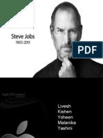 97827750 Steve Jobs Ppt