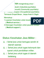 Psikiatri Militer