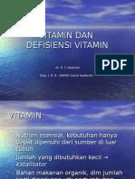 Vitamin Dan Defisiensi Vitamin