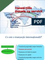 Curs 5 - Tranzactii internationale cu servicii