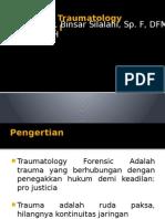 Traumatology Forensic I