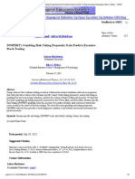 DOSPERT's Gambling Risk-Taking Propensity Scale Predicts Excessive Stock Trading by Lukasz Markiewicz, Elke U Abstract