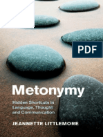 (Cambridge Studies in Cognitive Linguistics) Jeannette Littlemore-Metonymy_ Hidden Shortcuts in Language, Thought and Communication-Cambridge University Press