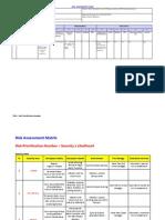 Lift Accessories Lift Measure Risk Assessment Form Base
