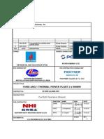 VA1 NHI 00100 M M1C MAN 0003 Rev1 Coal Mill Operation Manual