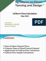 TMC Uniform Flow Caculation