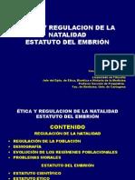 Etica y Regulacion de La Natalidad