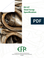 EFR EU27 Steel Scrap Specification