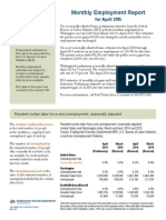 Current Monthly Employment Report
