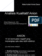 4. Analisis Kualitatif ANION
