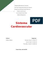 Trabajo Del Sistema Cardiovascular