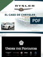 El Caso de Chrysler- ESTUDIO DE MERCADOS