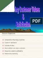 2. Delivering Curstomer Values & Satisfaction