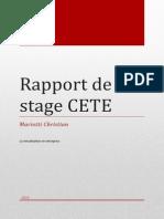 Rapport Cete Mariotti