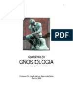 Apostila de Gnosiologia