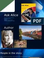 Ask Alice Apresentação