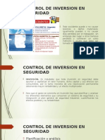 Control de Inversion en Seguridad