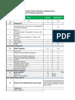 Bill of Quantity Paket Konsultan Assessment Bangunan