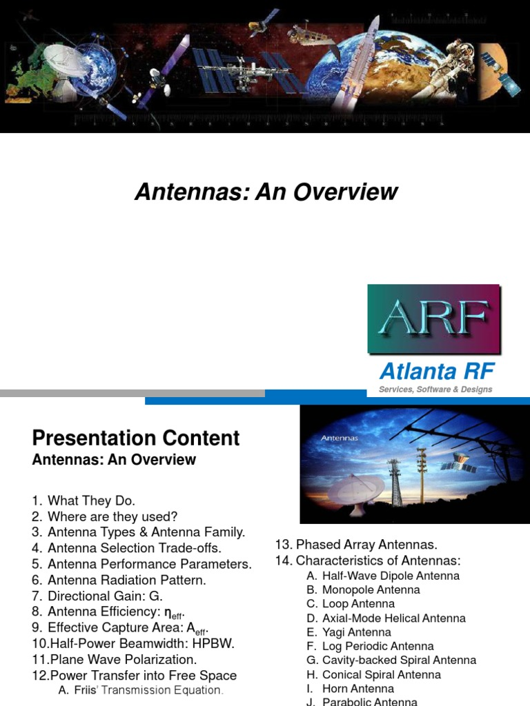 Antenna Overview | Antenna (Radio) | Polarization (Waves)