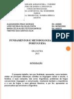 Atp - Fun. e Met. de Lingua Portuguesa
