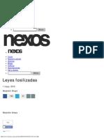Leyes Fosilizadas - Alejandro Anaya