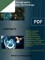 3D Holographic Projection Technique ppt