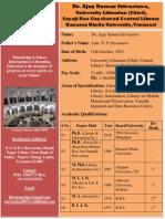CV_Ajay Kumar Srivastava Librarian BHU.pdf
