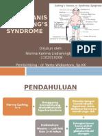 PPT Referat - Patomekanisme Cushing's Syndrome Nisrina KL