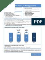 Hypertonic Saline 3 Naci Guideline