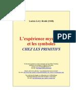 Lucien Lévy-Bruhl - L'expérience mystique et les symboles chez les Primitifs